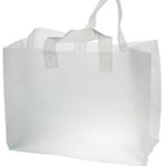 Flexiloop handle carrier bag
