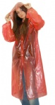 PE Raincoat with long sleeves and buttons